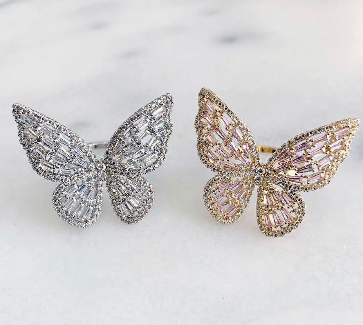 Butterfly Ring -Gold