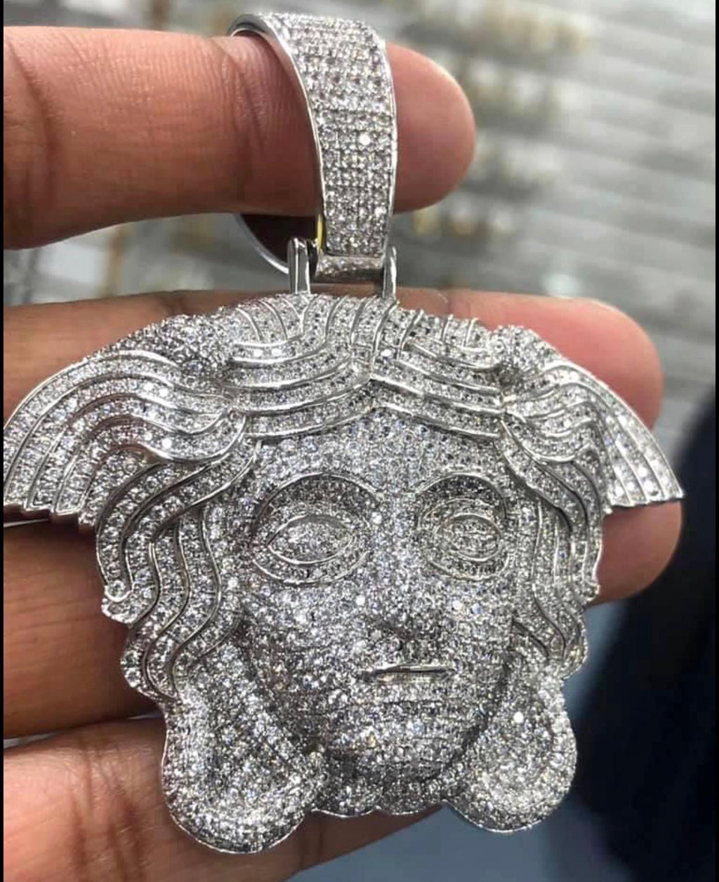 Medusa head pendant only