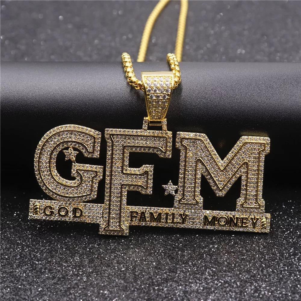 GFM Pendant with Necklace
