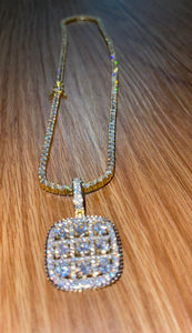 Chain and pendant only