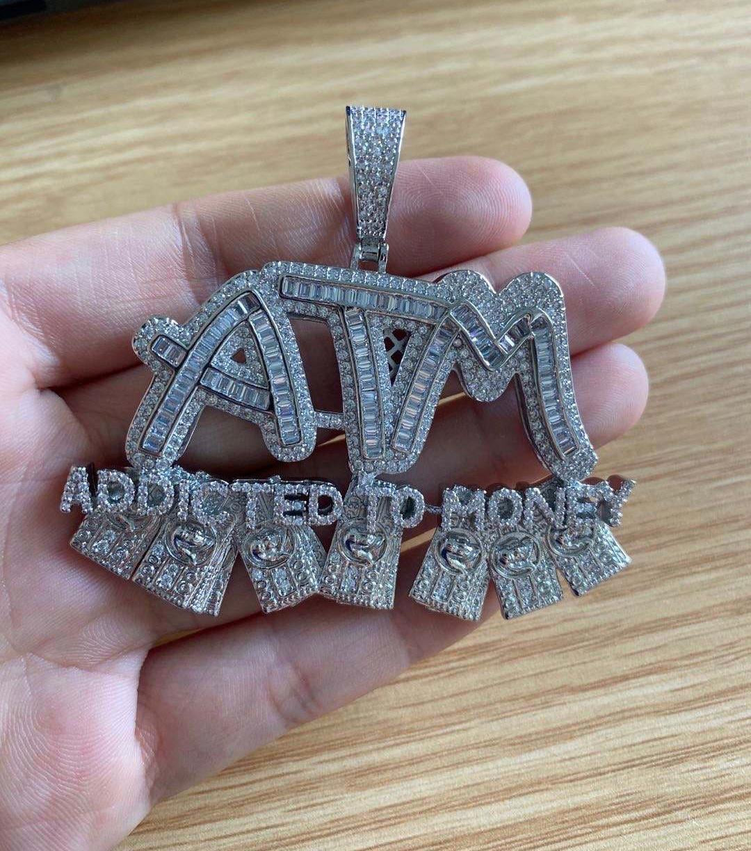 ATM Pendant with Necklace
