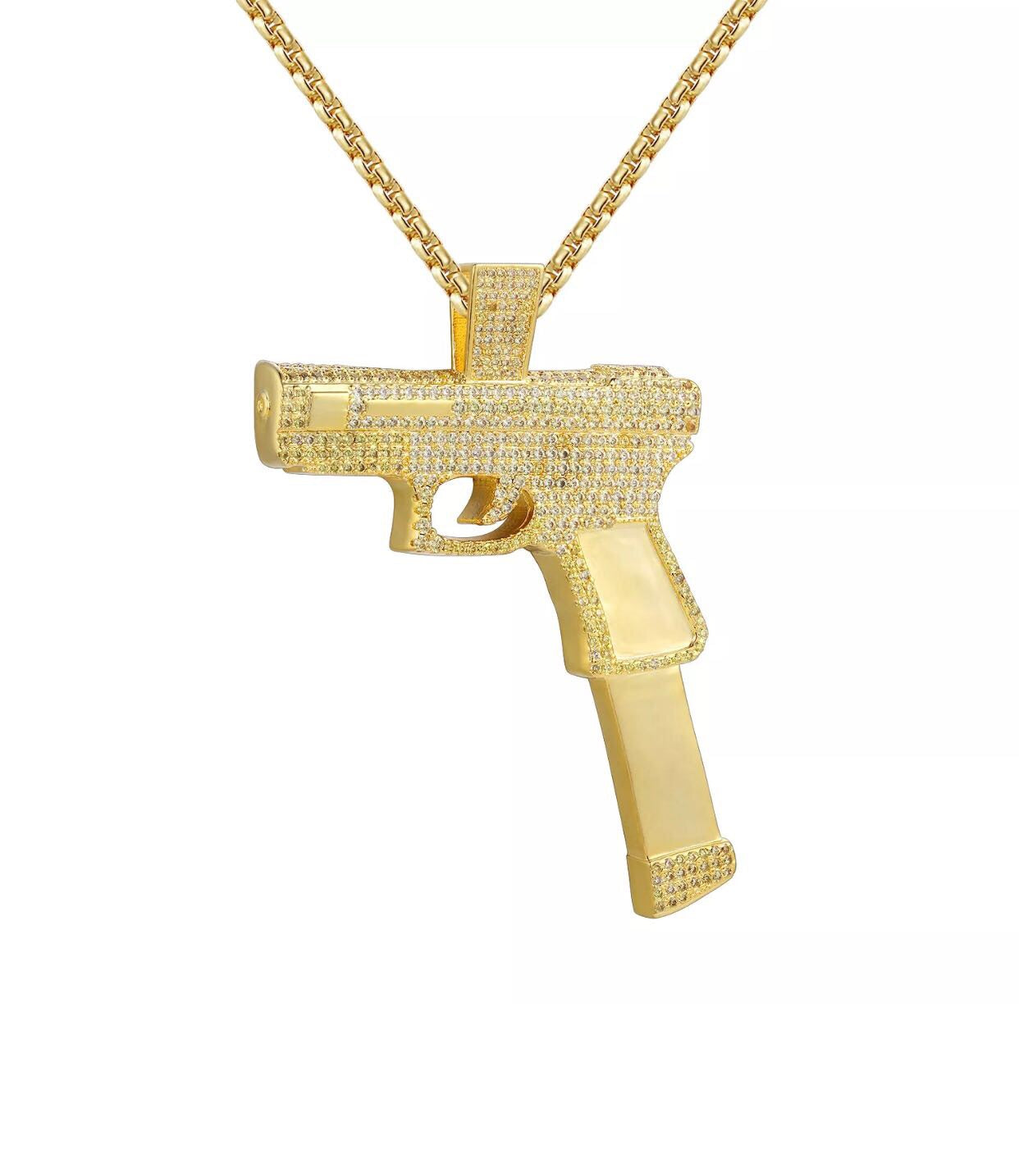 Gun pendantnecklace jp305 gun pendantnecklace mozeypictures Images