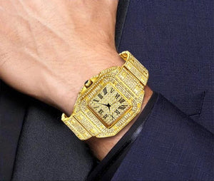 Diamond watch - Fully Iced