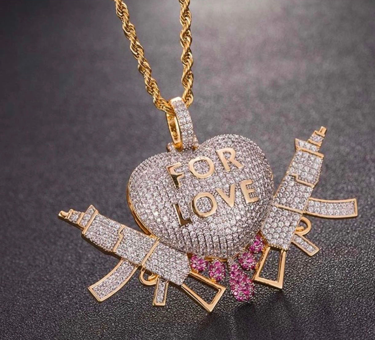 For Love Pendant & Necklace