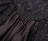 Steampunk Gothic Victorian Long Dresses High Waist Women Maxi Dress