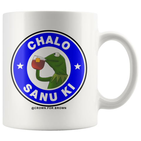 Chalo Sanu Ki Chai Cha Mug - Crown For Brown