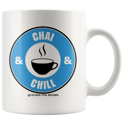 Chai and Chill Cha Mug - Crown For Brown