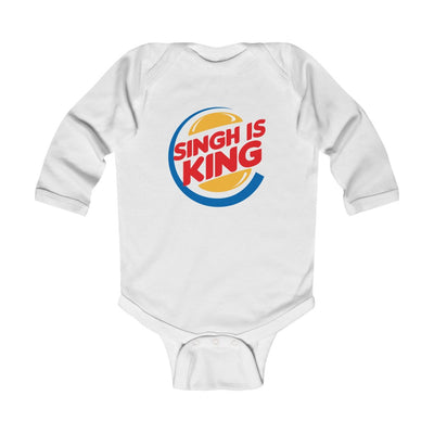 Singh is King - Long Sleeve Baby Onesie