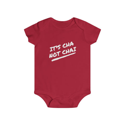 It's Cha Not Chai - Baby Onesie