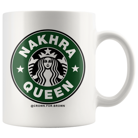 Nakhra Queen Chai Cup - Crown for Brown