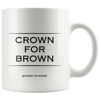 Crown For Brown Mug