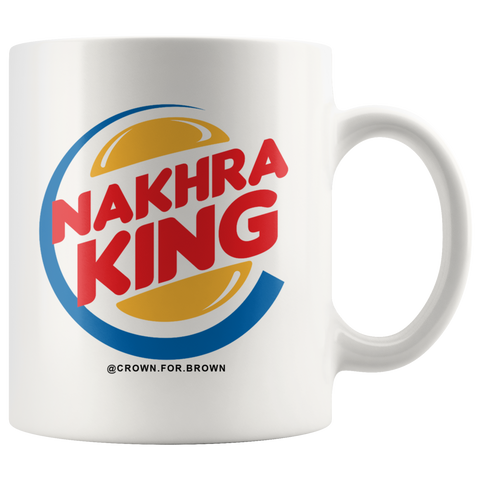 Nakhra King Cha Cup - Crown for Brown