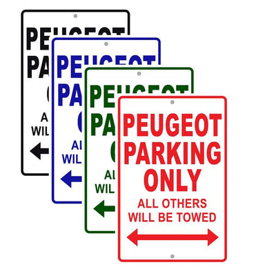 Peugeot Signs