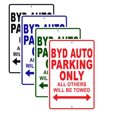 Byd Auto Signs