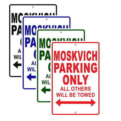 Moskvich Signs