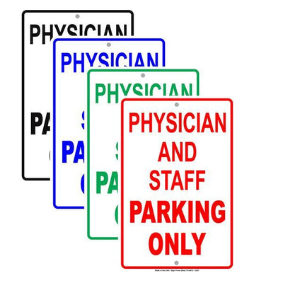 Employee and Staff Parking Signs