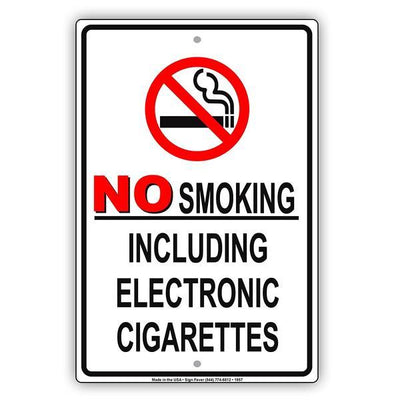 Smoking Restriction Signs