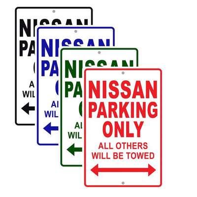 Nissan Car Signs
