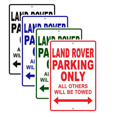 Land Rover Car Signs