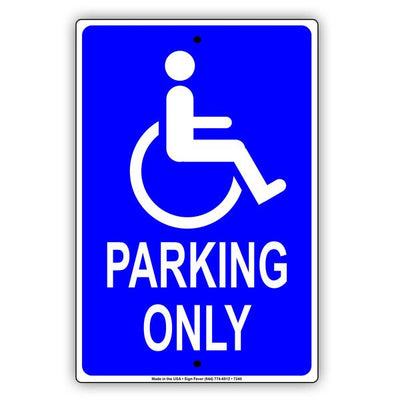Disabled Handicapped Parking Signs