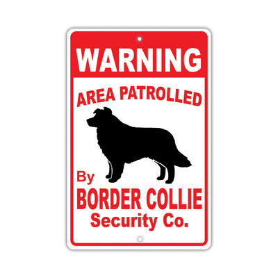 Border Collie Dog Signs