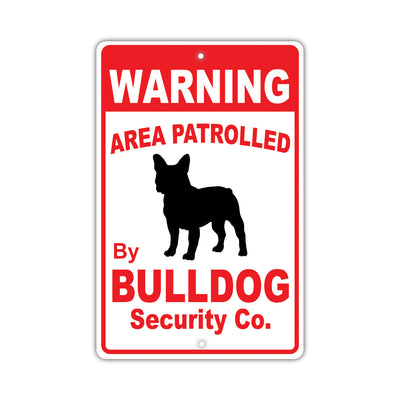 Bull Dog Breed Signs