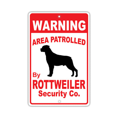 Rottweiler Dog Signs