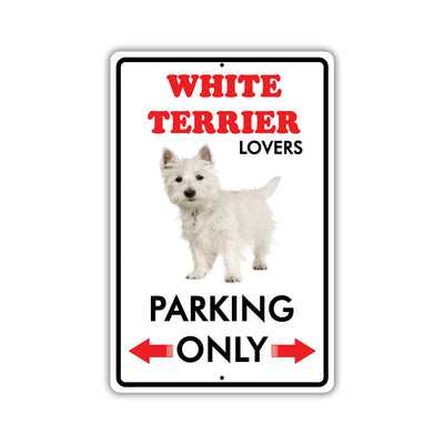 White Terrier Dog Breed Signs