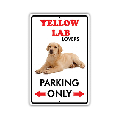 Yellow Lab Dog Breed Signs