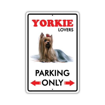 Yorkie Dog Breed Signs