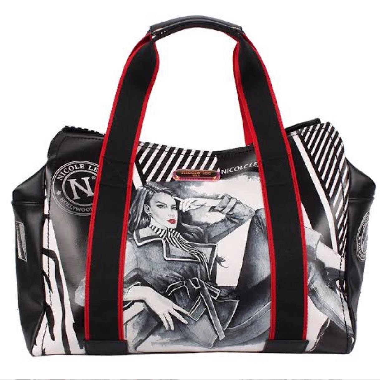 "Nicole Lee ""Maxine Denies Comfort Zone"" Printed Duffle Bag"