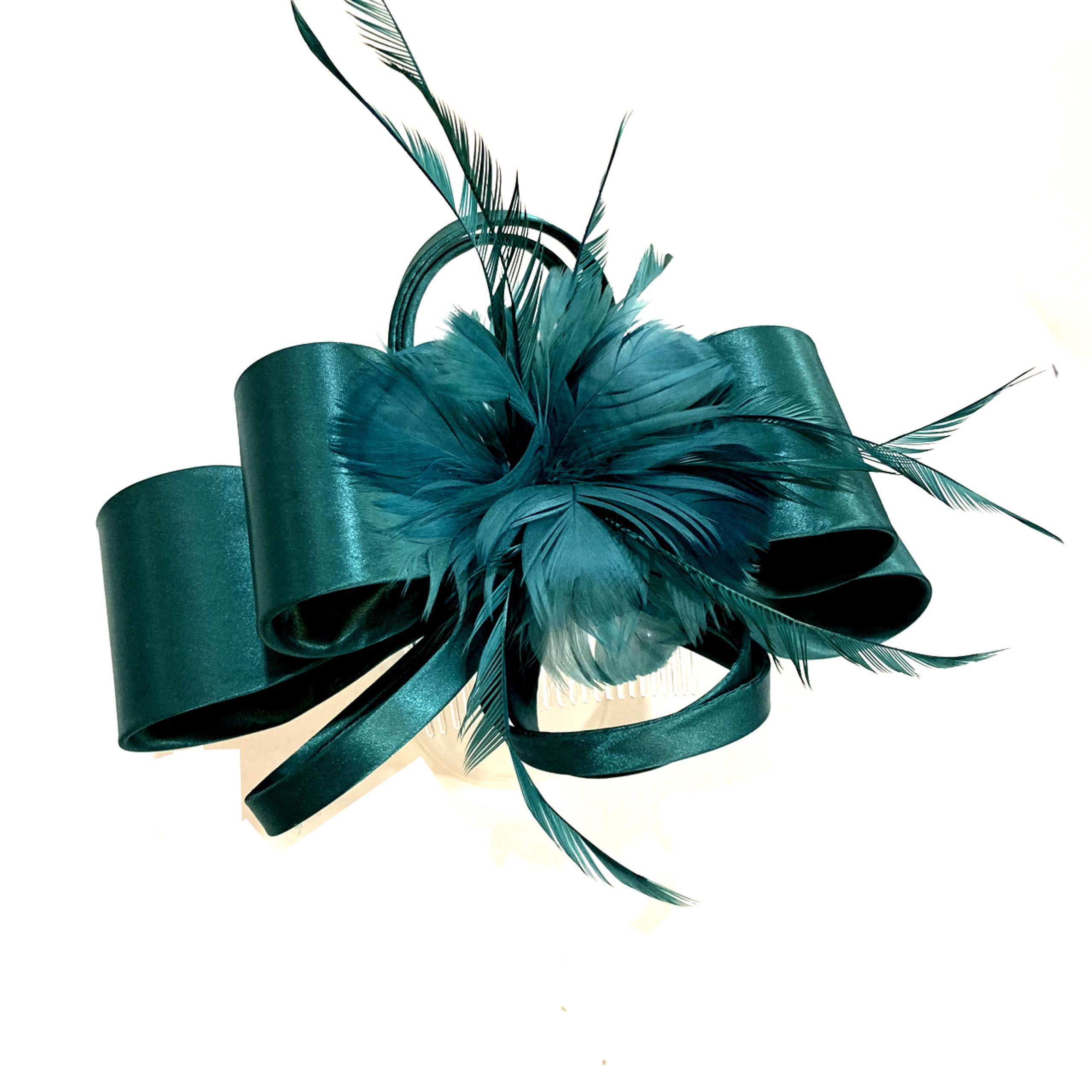 Satin Ribbon Fascinator