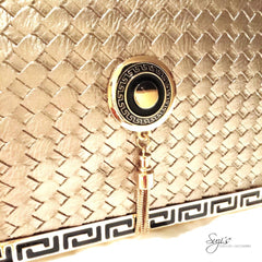 Versace Style Clutch