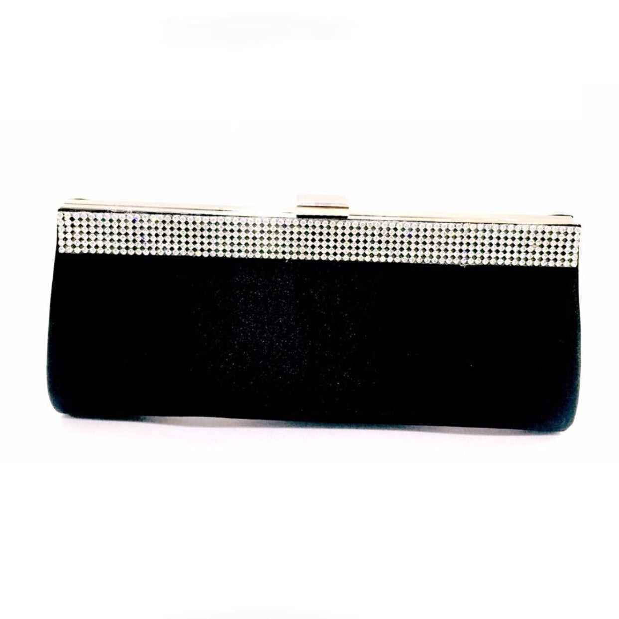 Diamanté Crystal Trim Clutch