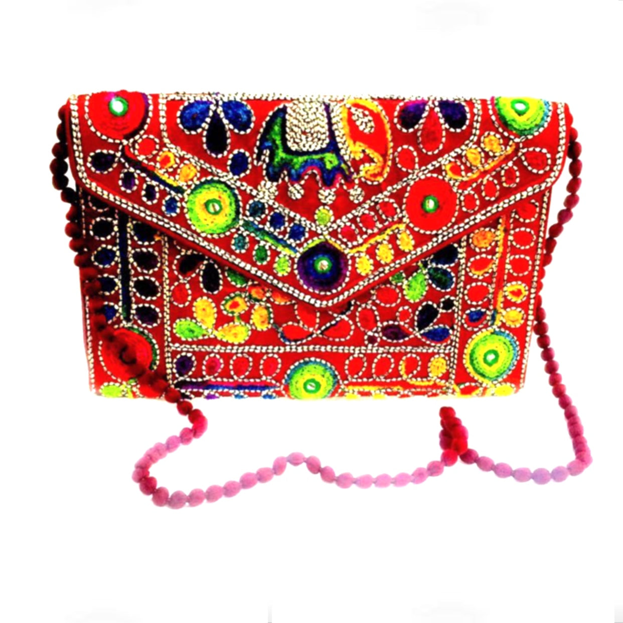 Banjara Envelope Clutch