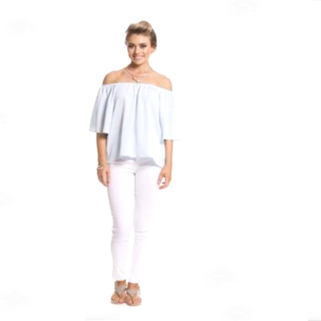 Bella Off Shoulder Blouse Top