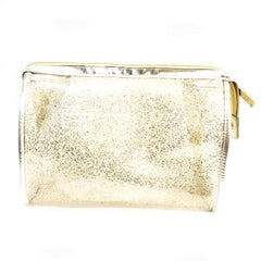 Cosmetic Bag - Clear Gold Foil