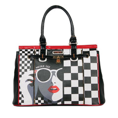 "Nicole Lee ""Overnight Bag"" Lady in Sunglass"