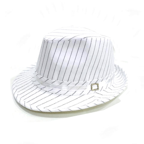 Black & White Stripe Hat