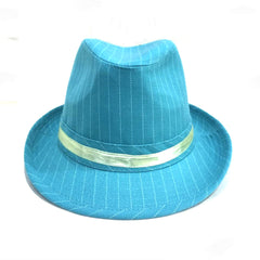 Blue & White Stripe Hat