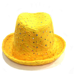 Yellow & Silver Hat