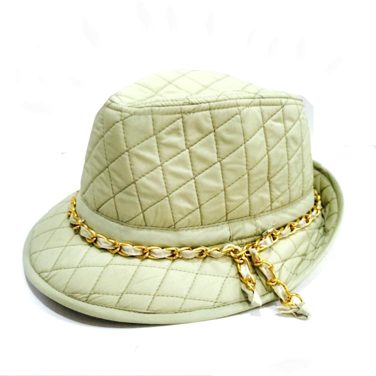 Cream Hat - Inspired By Chanel