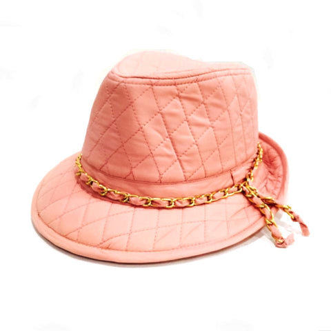 Peach Hat - Inspired By Chanel