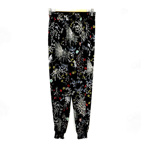 Designer Flower & Butterfly Pattern Pants