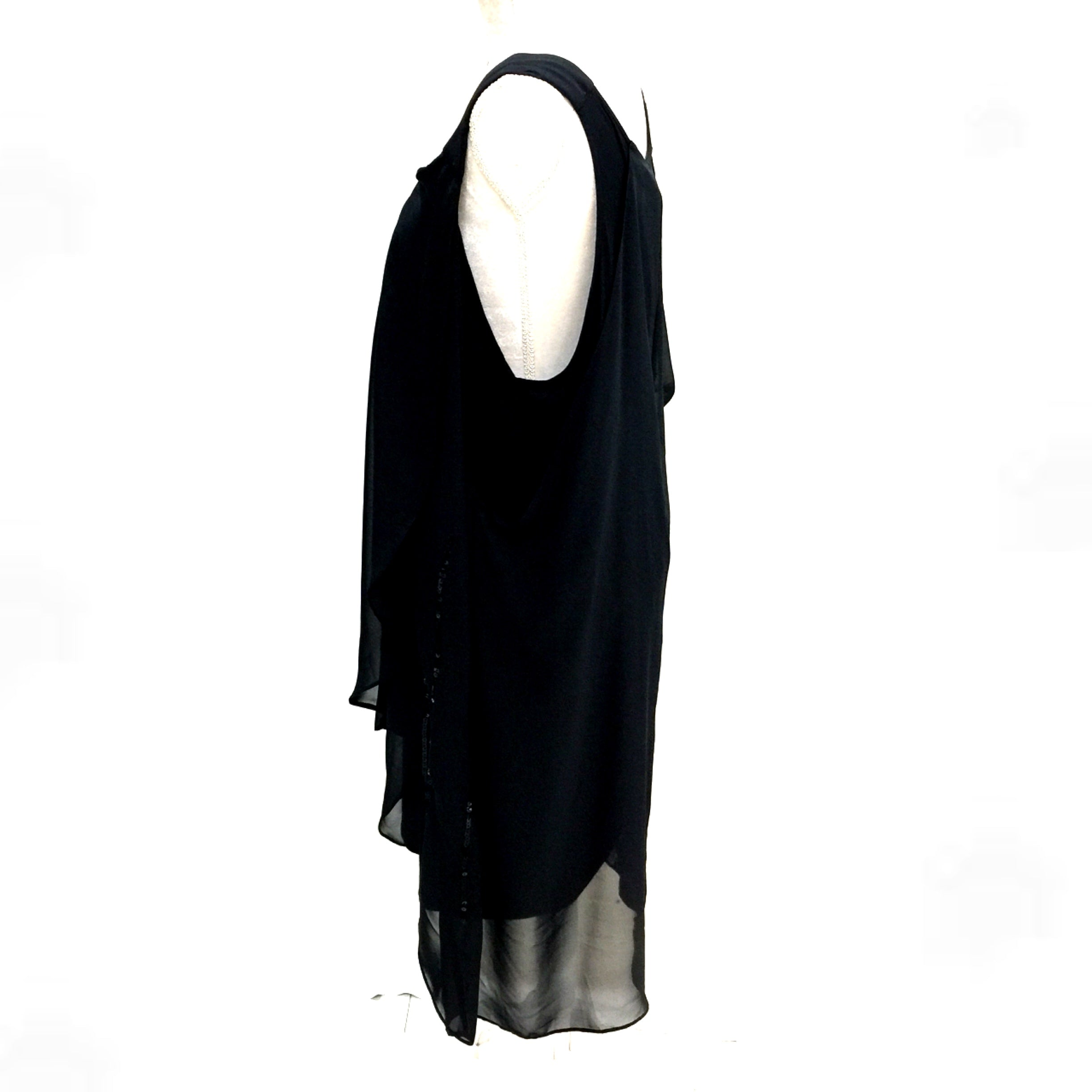 Ed.it.ed Black Dress or Top