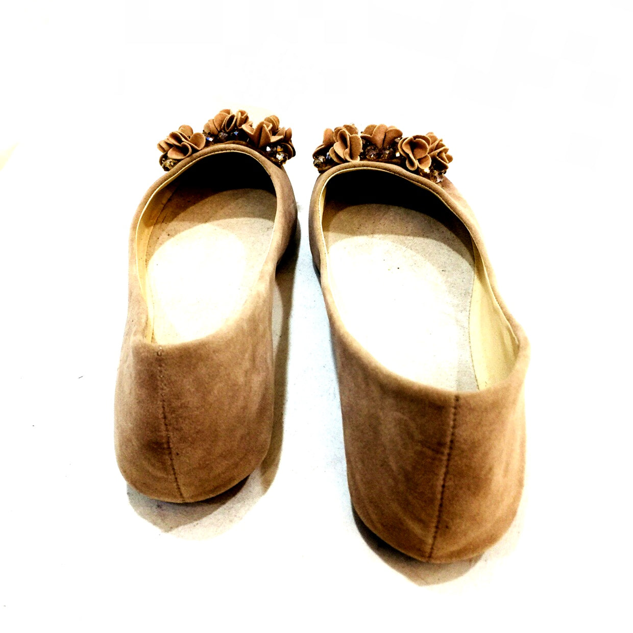 Comfy Brown Flat Shoes