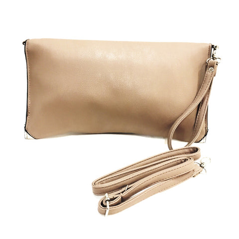 Chic Duo Tone Clutch Bag