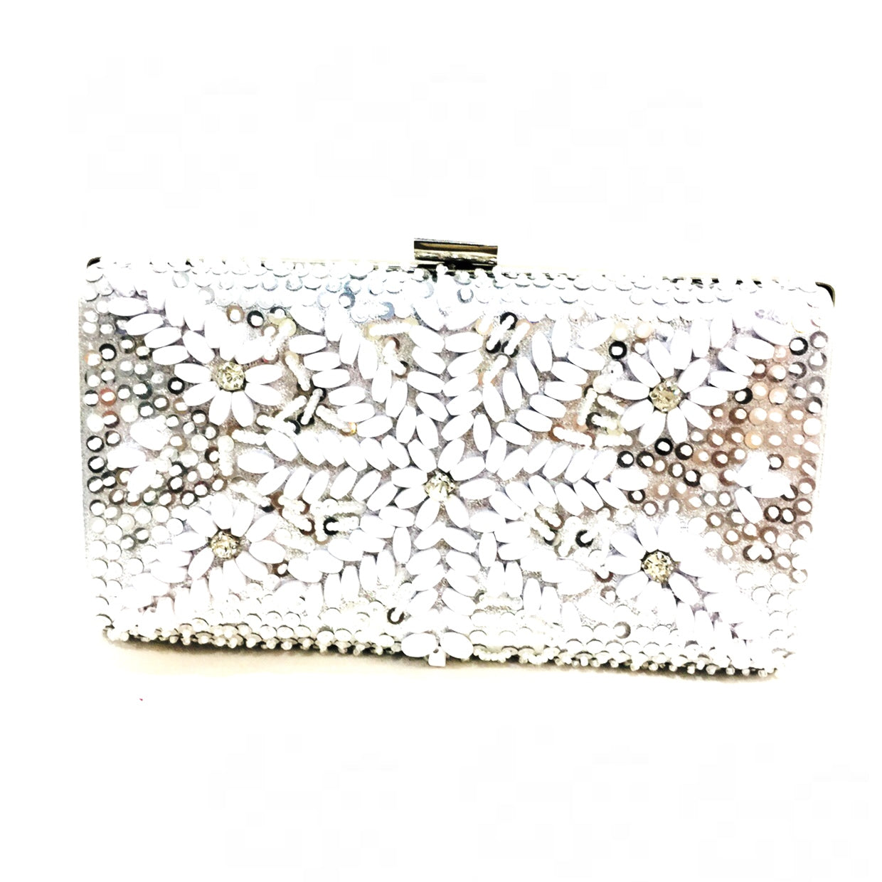 Lena Embellished Clutch Bag