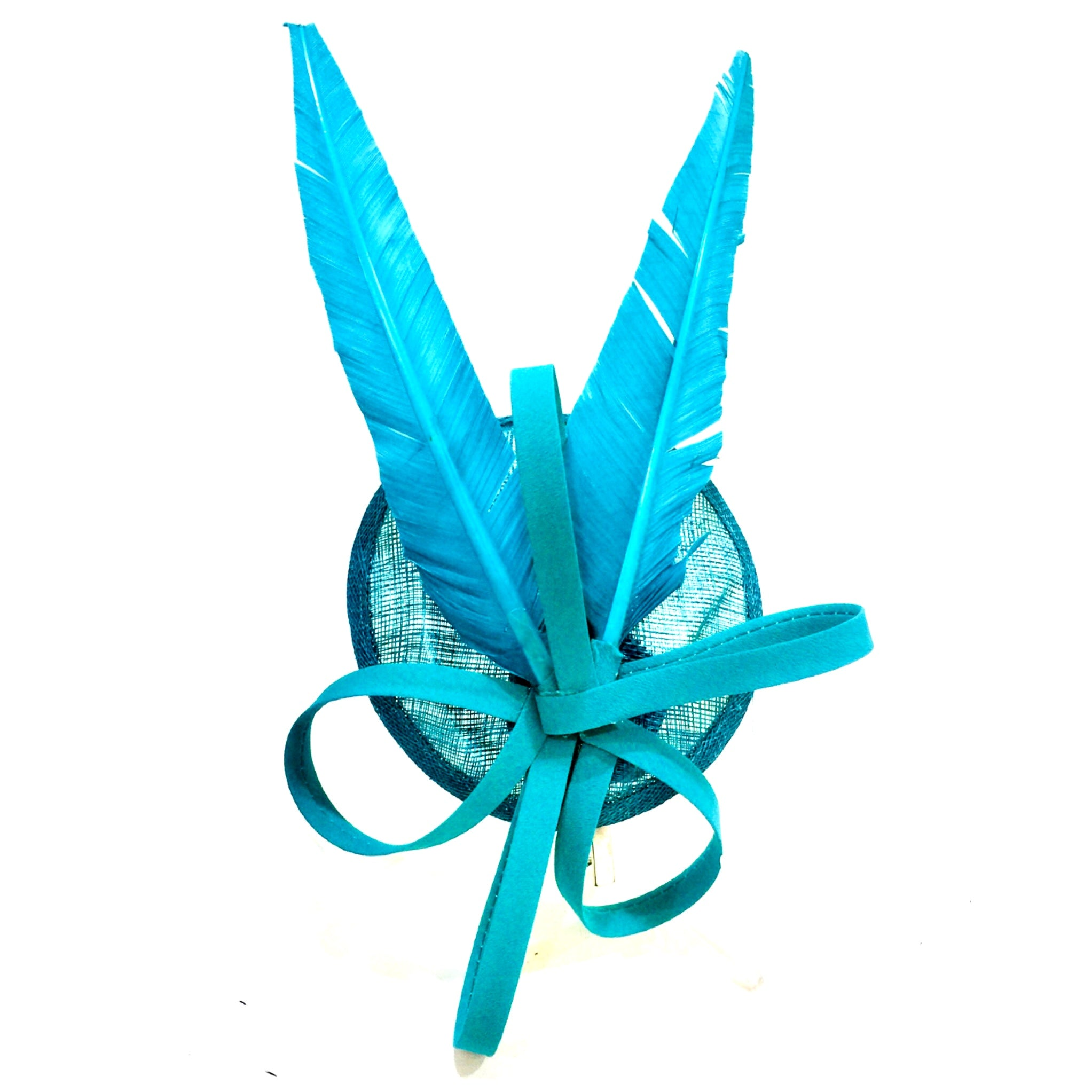 Teal Luxe Fascinator
