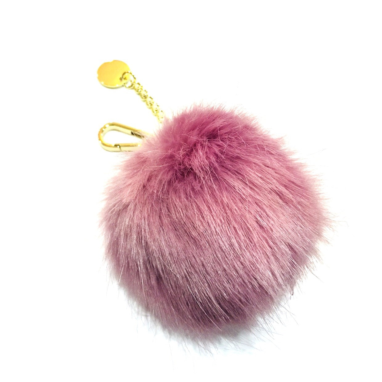 Pom Pom Key/Bag Holder